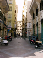 Streets of Alicante, Spain
