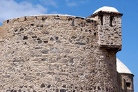 Castle of 'La Luz' at Las Palmas de Gran Canaria