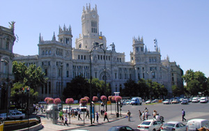 Photo: General view of Madrid town