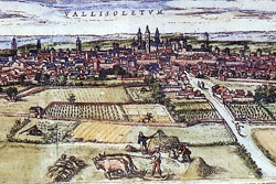 Valladolid History Map